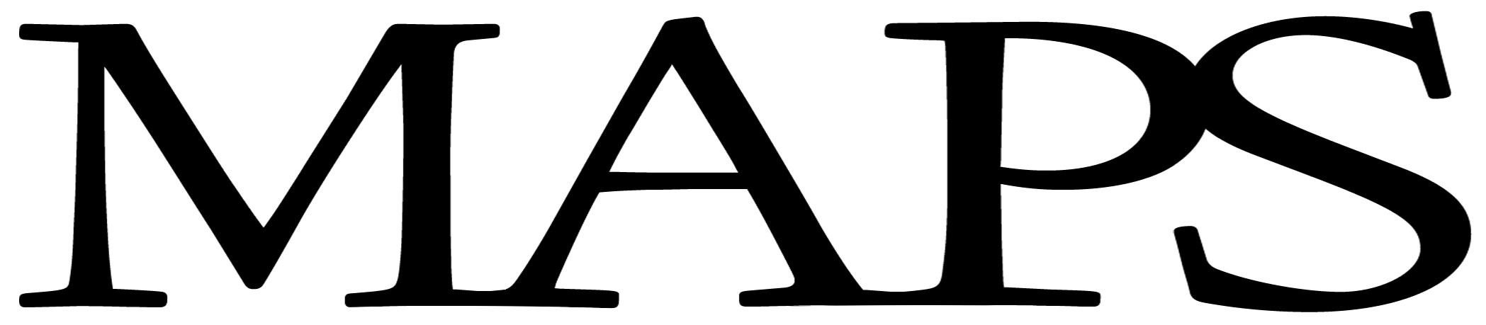 MAPS Logo Font