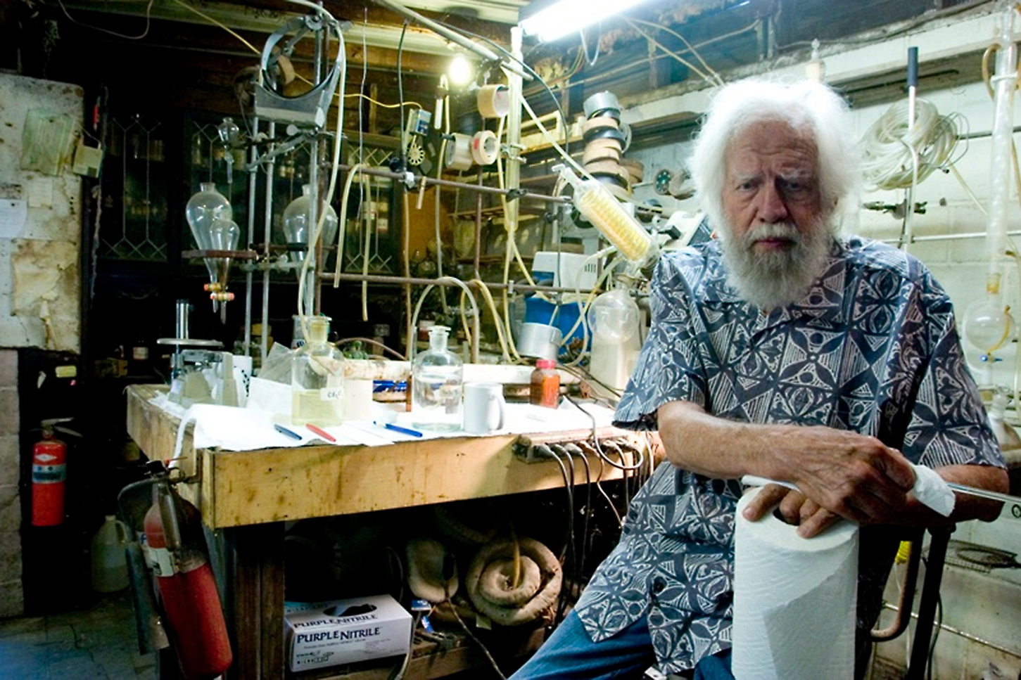 alexander shulgin The scientist alexander sasha shulgin had already been consulting with the drug enforcement administration (dea) for decades but after an unflattering high times article, they decided to raid his house.