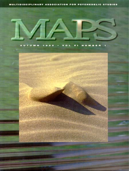 MAPS Bulletin Vol vi No 1: Autumn 1995 - Front Cover Image - Psychedelic Art -  by