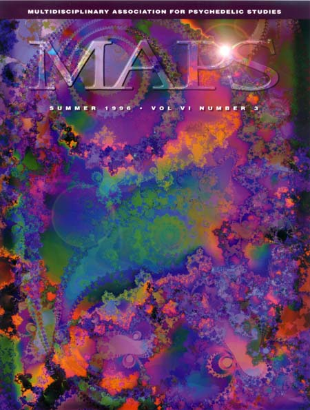MAPS Bulletin Vol vi No 3: Summer 1996 - Front Cover Image - Psychedelic Art -  by