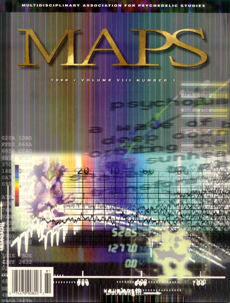 MAPS Bulletin Vol viii No 1: Spring 1998 - Front Cover Image - Psychedelic Art -  by