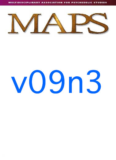 Autumn 1999 Vol. 09, No. 3 MAPS' long-standing efforts to conduct…