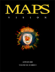MAPS Bulletin Vol xii No 3: Autumn 2002 - Front Cover Image - Psychedelic Art -  by