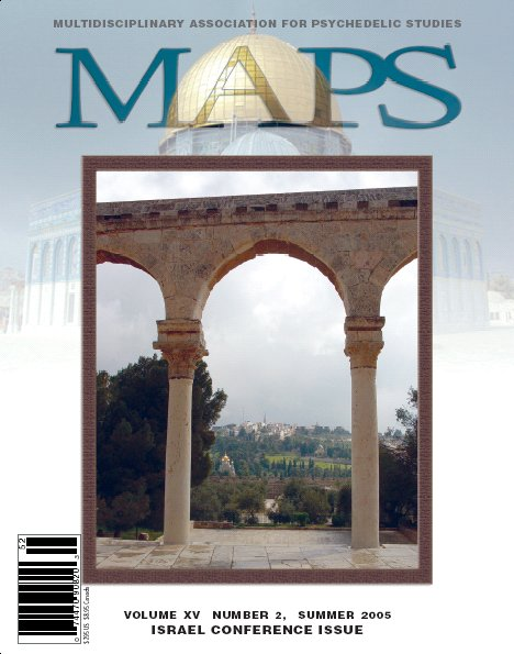 MAPS Bulletin Vol xv No 2: Summer 2005 - Front Cover Image - Psychedelic Art -  by John Halpern