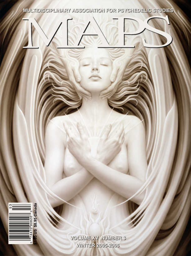 MAPS Bulletin Vol xv No 3: Winter 2005 - Front Cover Image - Psychedelic Art - Unio Mystica by A. Andrew Gonzalez