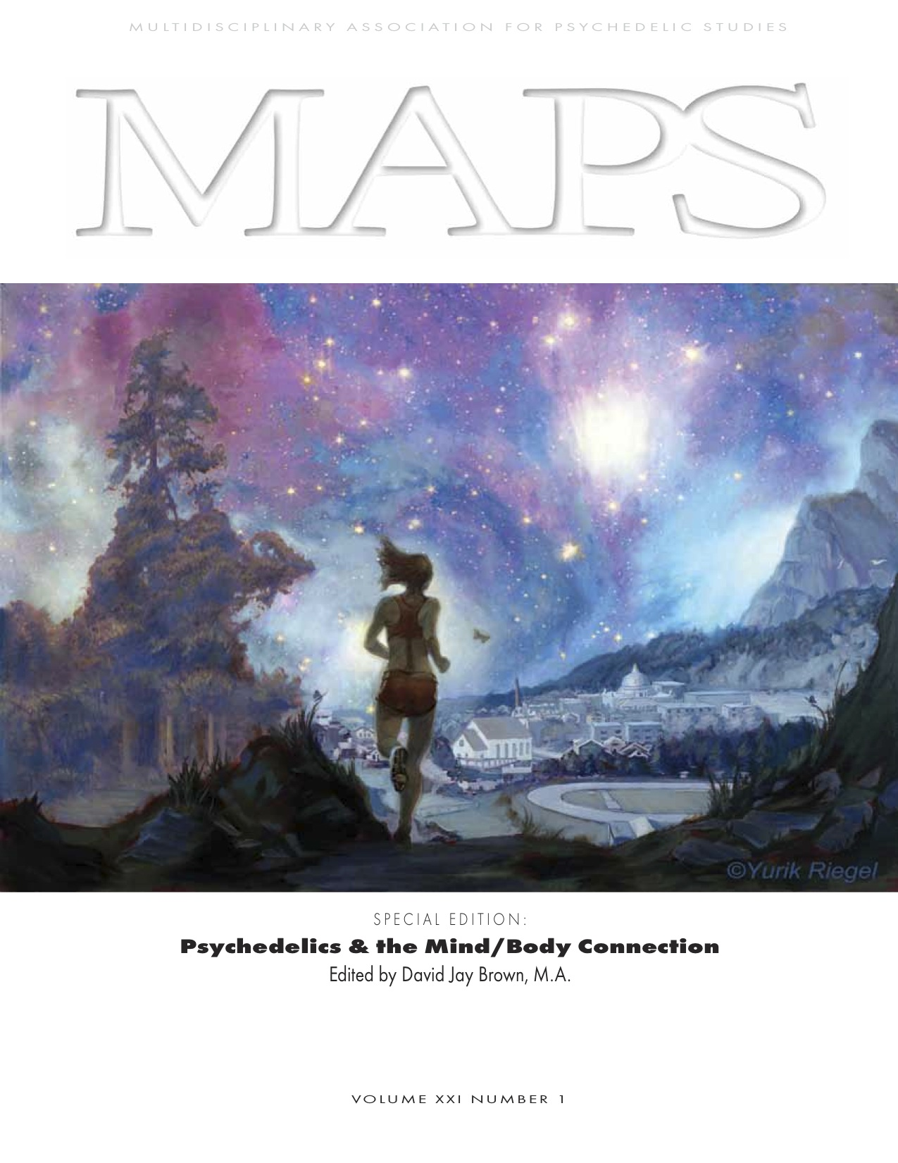 MAPS Bulletin Vol XXI No 1: Spring 2011 - Front Cover Image - Psychedelic Art - Return Home by Yurik Riegel