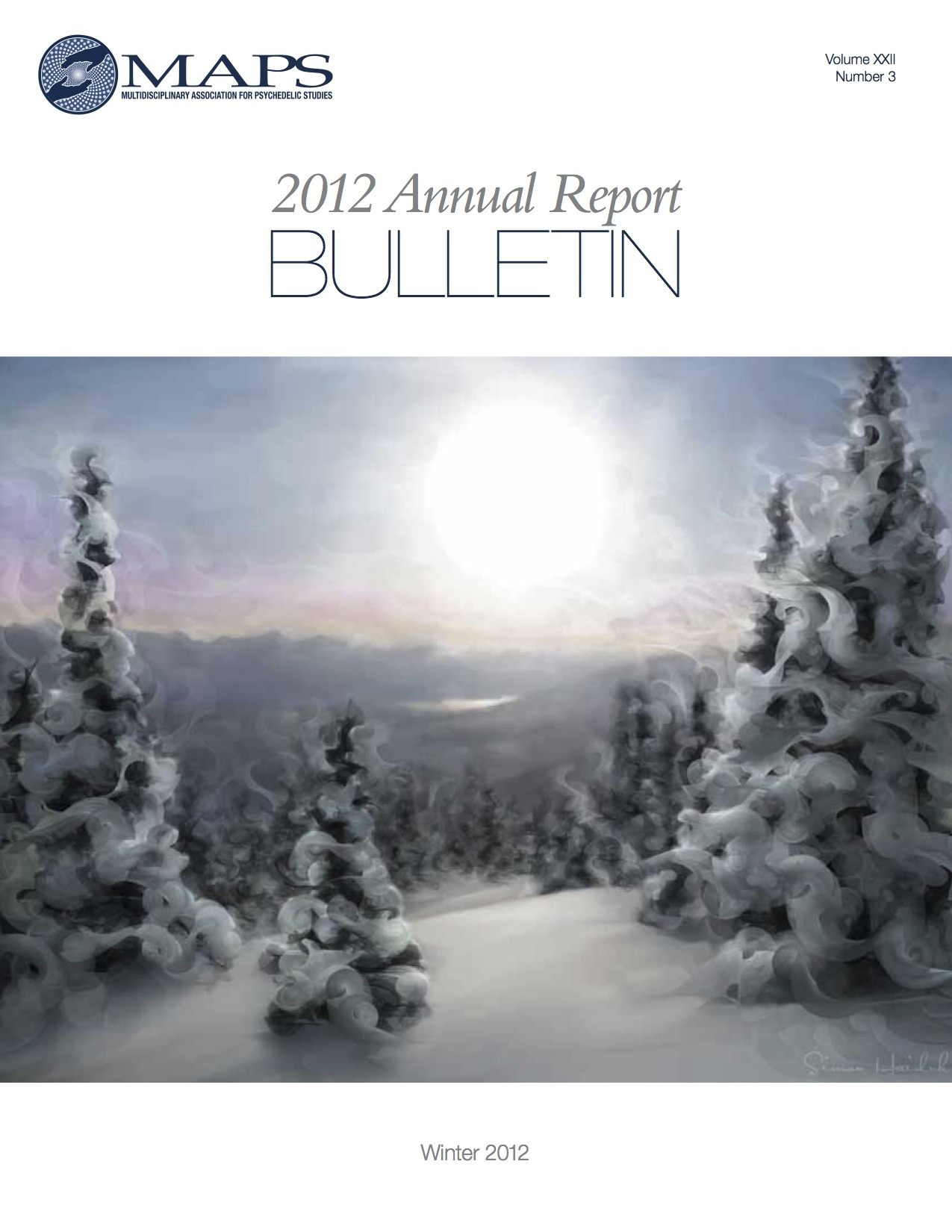 Winter 2012 Vol. 22, No. 3: 2012 Annual Report