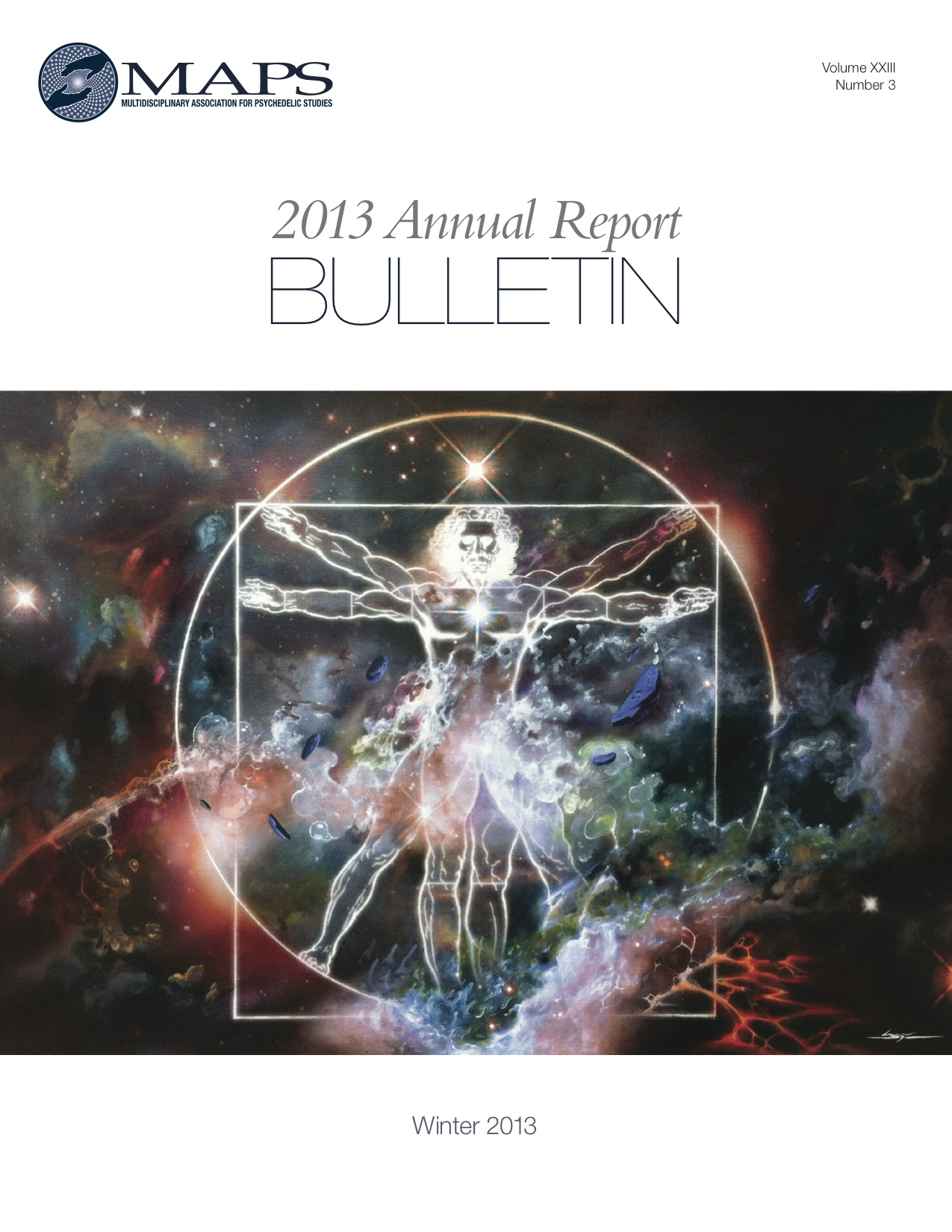 MAPS Bulletin Winter 2013: 2013 Annual Report