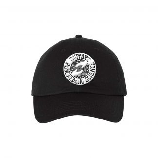 Support Psychedelic Science Dad Hat (Black)